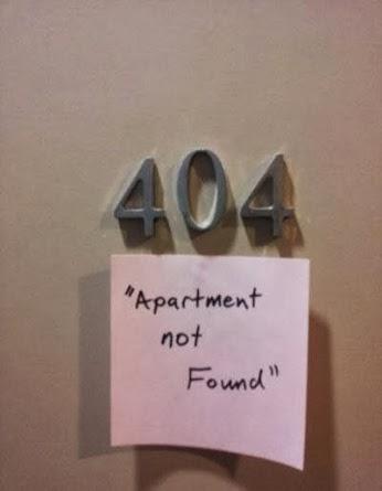 404, Apartement Not Found !