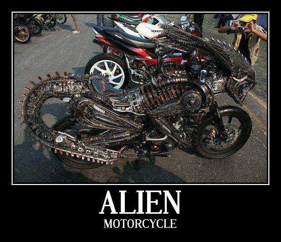 Alien Motorcycle