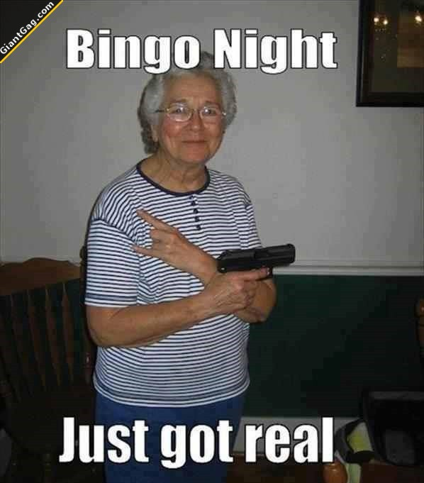 Bingo Night Just Got Real