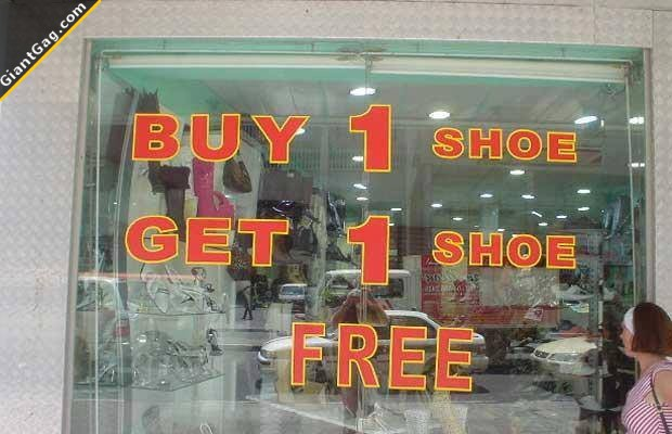 Buy 1 Shoe Get 1 Shoe For Free