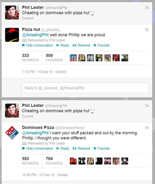 Cheating On Dominoes With Pizza Hut