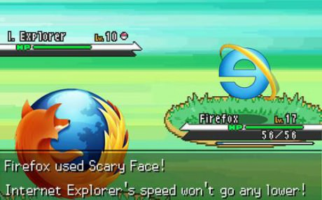 Firefox Used Scary Face, Interent Explorer Speed Won't Go Down