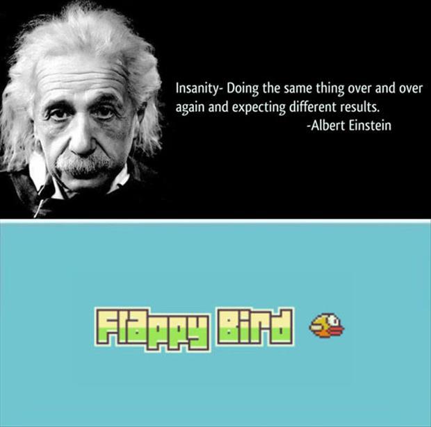Albert Einstein, Insanity Definition