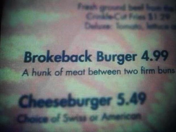 Brokeback Burger