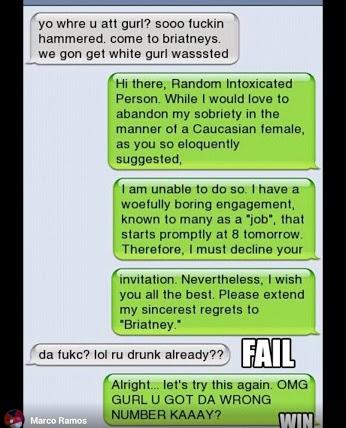 Dafuq R U Drunk Already ?