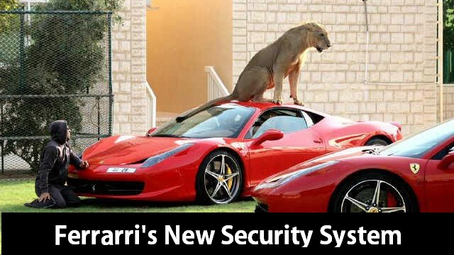 Ferrari's New Security System