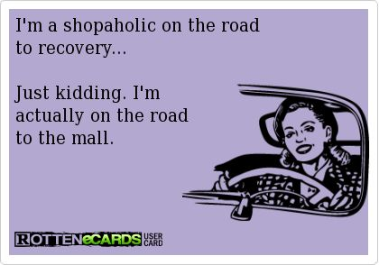 I'm A Shopaholic On The Road To Recovery
