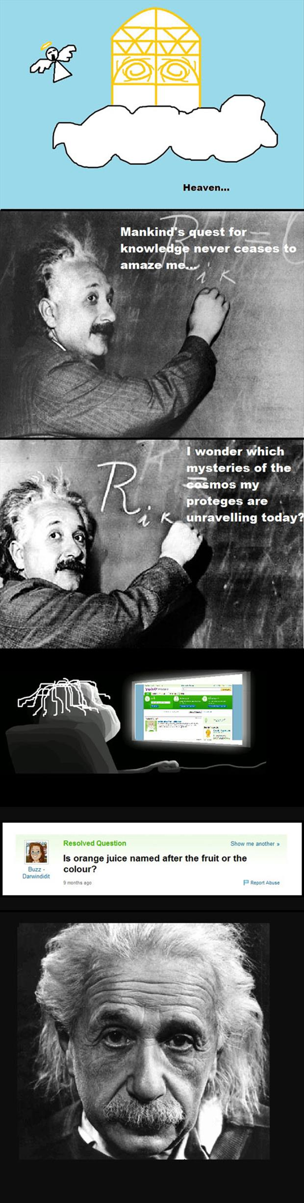 I Wonder Which Mysteries Of The Cosmos My Proteges Are Unravelling Today ?