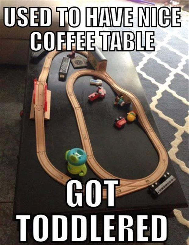 My Coffee Table Got Toddlered
