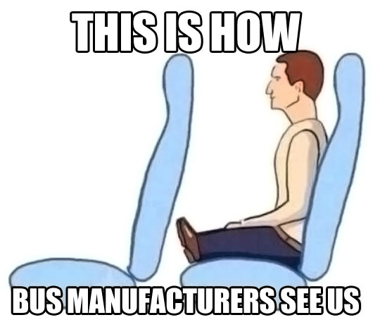 This Is How Bus Manufacturers See Us