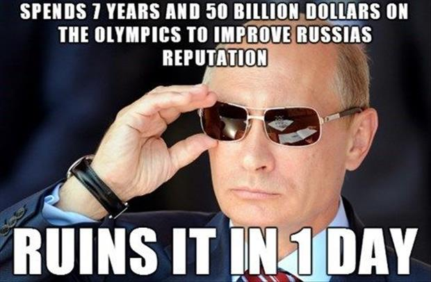 Vladimir Putin Ruins Russia Repution In 1 Day