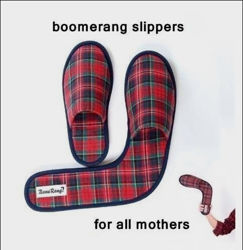 Boomerang Slippers For All Mothers