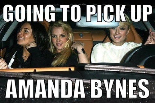 Going To Pick Up Amanda Bynes