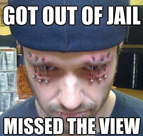 Missed The View Of Jail ...