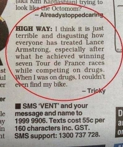 How People Treated Lance Armstrong