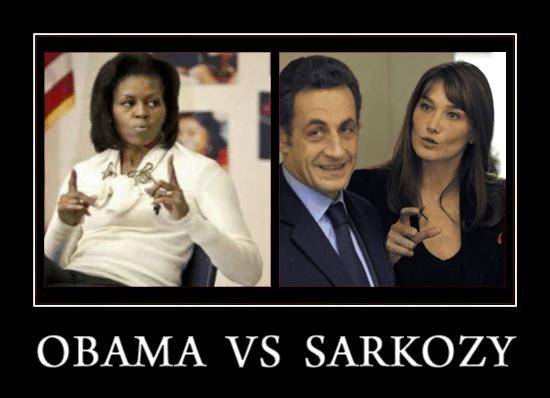 Obama Vs Sarkozy D*Ck Size