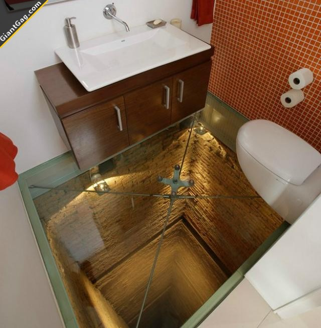 Would You Use This Bathroom ?