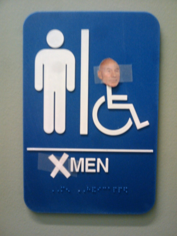 X-Men Bathroom