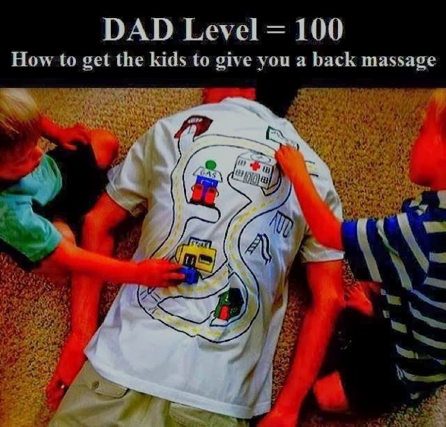 How To Get The Kids To Give You A Back Massage