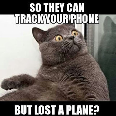 So They Can Track Your Phone But Lost A Plane