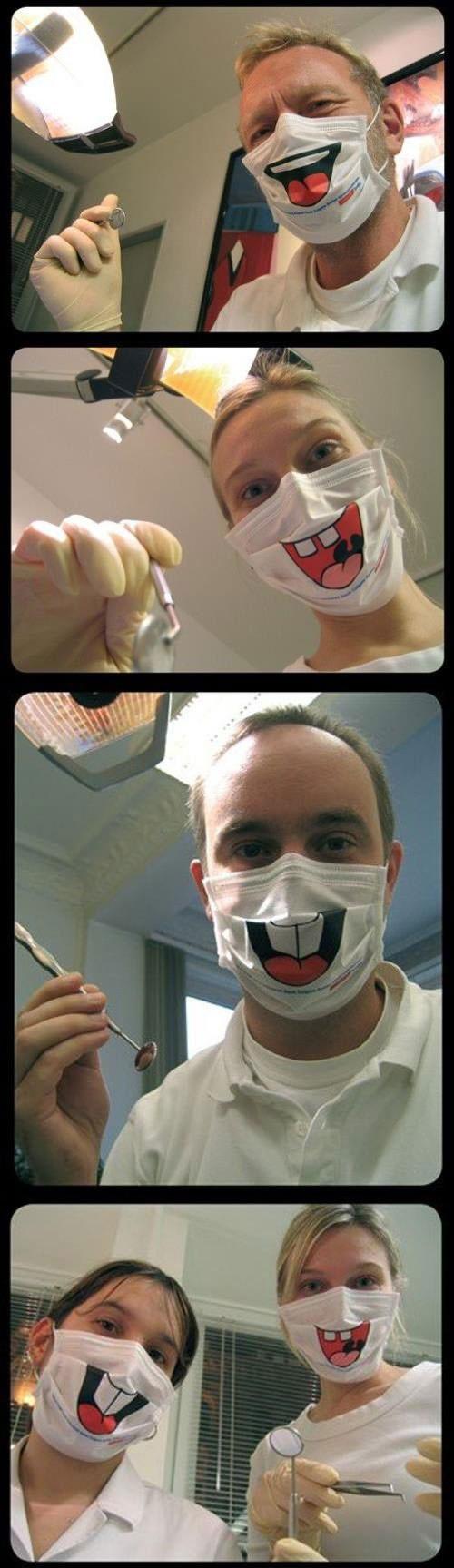 Dentists Smile Face Masks