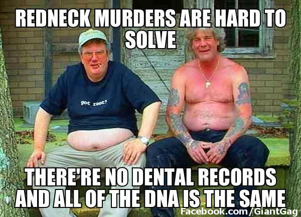 Redneck Murders Are Hard To Solve