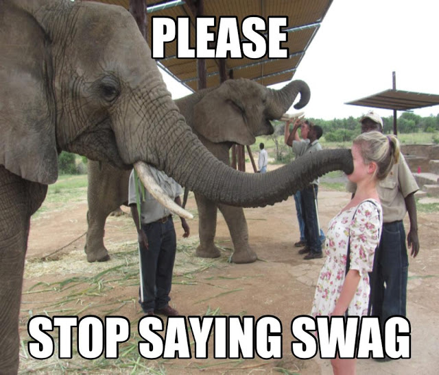Please Stop Saying Swag